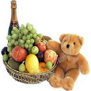 Exclusive Fruit Basket
