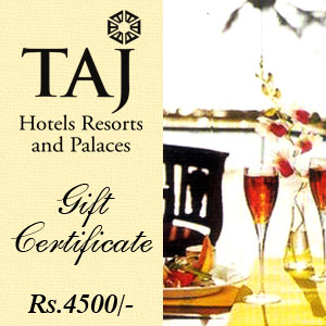 Taj Gift Voucher - Rs 4500