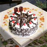 Five Star Black Forest Cake-1 Kg
