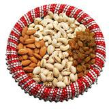 Enticing Dry Fruits Thali