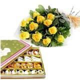 Assorted Sweets with Roses