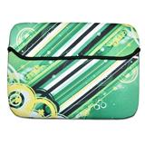 Stripes on Green - Laptop Sleeve
