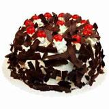 Five Star Black Forest Cake - 1 Kg. (Midnight)