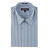 Trendy Park Avenue Striped Shirt