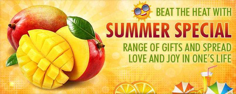 BEAT THE HEAT WITH SUMMER SPECIAL RANGE OF GIFTS AND SPREAD LOVE AND JOY IN ONE'S LIFE
