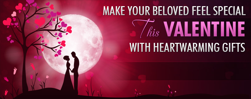 Make your beloved feel special this Valentine with heartwarming gifts